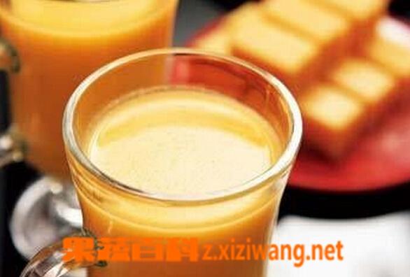 果蔬百科胡萝卜玉米汁